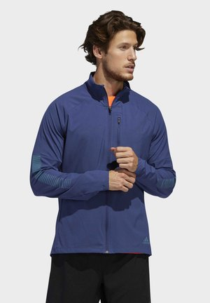 RISE UP N RUN JACKET - Veste de survêtement - tech indigo