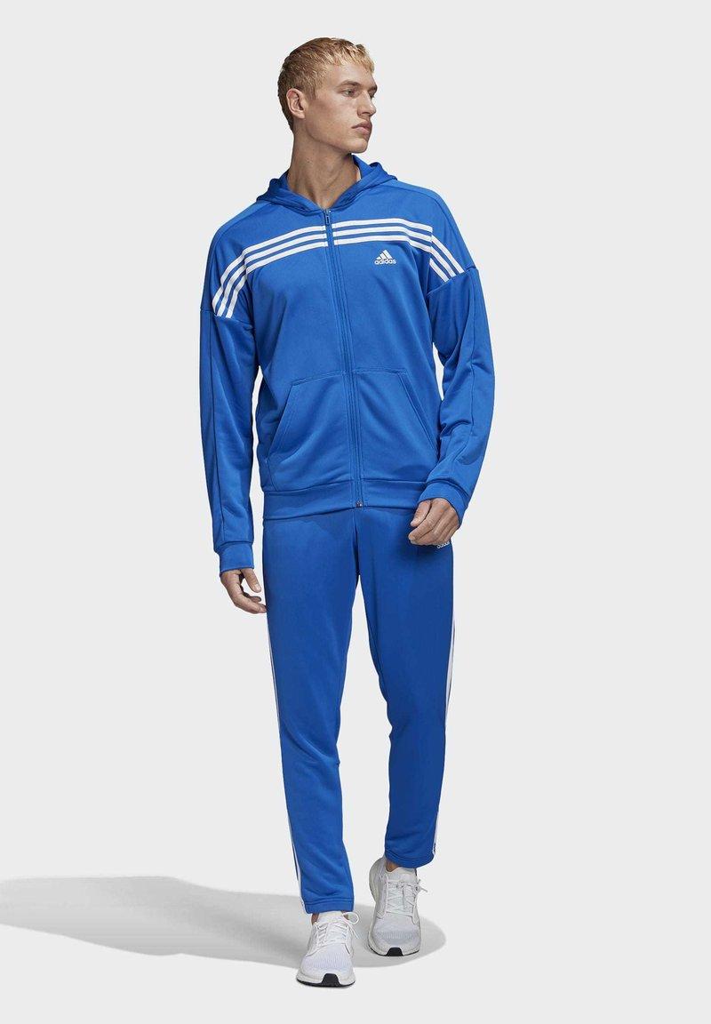 adidas Performance - MTS TRACKSUIT - Sweatjacke - blue