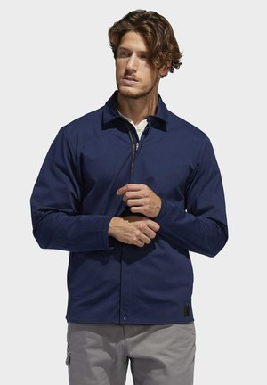 ADICROSS WARP KNIT JACKET - Veste softshell - blue