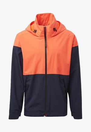 URBAN RAIN.RDY RAIN JACKET - Träningsjacka - orange/blue