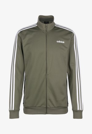 ESSENTIALS STRIPES - Chaqueta de entrenamiento - legacy green/white
