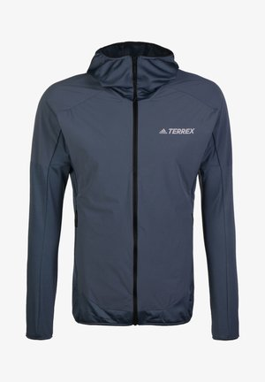 ADIDAS PERFORMANCE TERREX SKYCLIMB FLEECEJACKE HERREN - Kurtka Outdoor - legacy blue
