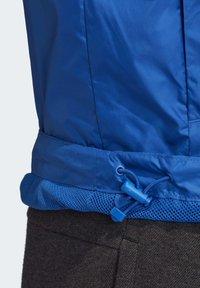 adidas Performance - BSC 3-STRIPES WIND.RDY WINDBREAKER - Veste coupe-vent - blue - 7