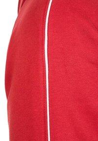 adidas Performance - CORE 18 HOODIE - Hoodie - red/white - 3