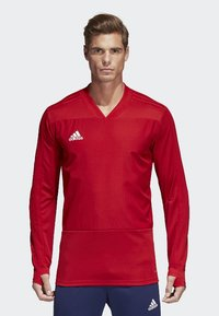 adidas Performance - CONDIVO 18 PLAYER FOCUS TRAINING TOP - Sweatshirt - red - 0