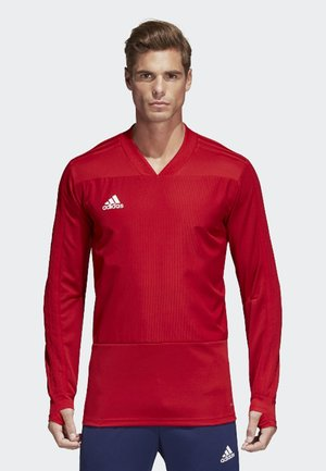 CONDIVO 18 PLAYER FOCUS TRAINING TOP - Sweatshirt - red