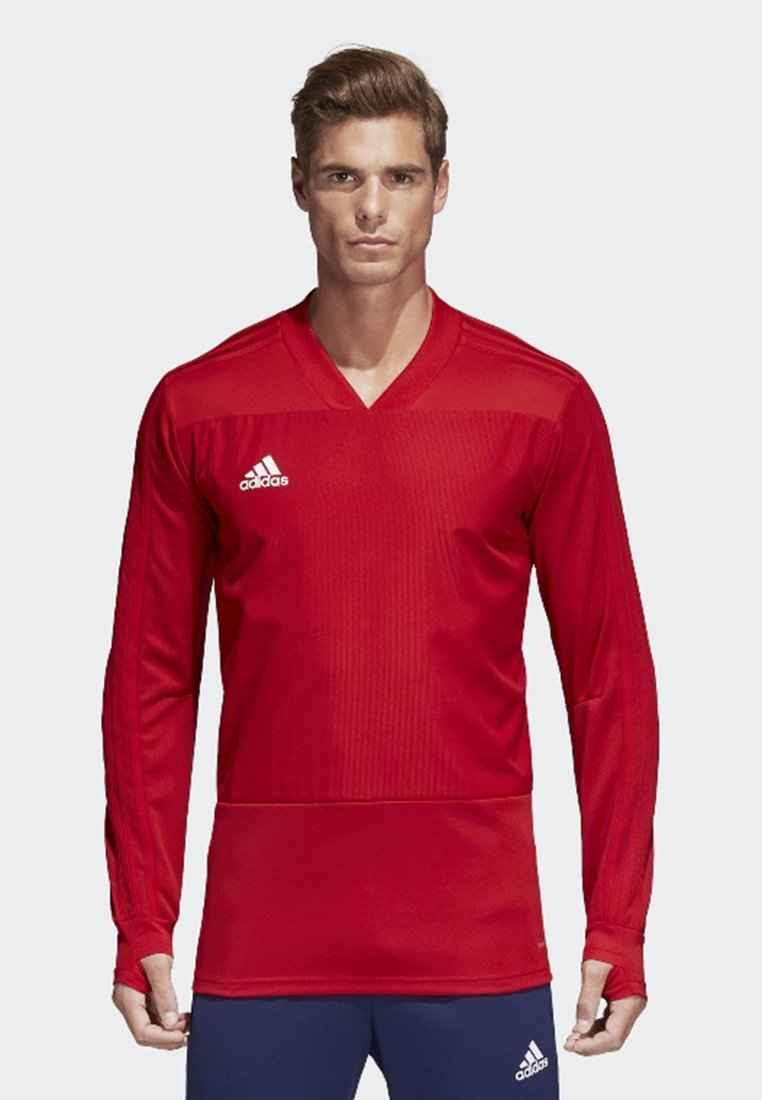 adidas Performance - CONDIVO 18 PLAYER FOCUS TRAINING TOP - Sweatshirts - red