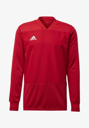 CONDIVO 18 PLAYER FOCUS TRAINING TOP - Sweater - red
