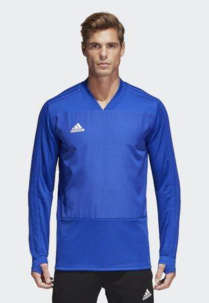 CONDIVO 18 PLAYER FOCUS TRAINING TOP - Sweatshirt - bold blue/white