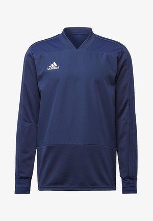 CONDIVO 18 PLAYER FOCUS TRAINING TOP - Sweatshirt - dark blue/white