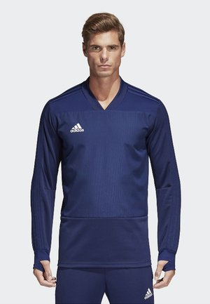 CONDIVO 18 PLAYER FOCUS TRAINING TOP - Sweatshirt - dark blue/white