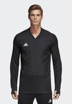 CONDIVO 18 PLAYER FOCUS TRAINING TOP - Sweatshirt - black/white