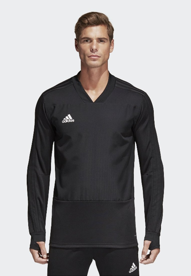 adidas Performance - CONDIVO 18 PLAYER FOCUS TRAINING TOP - Sweatshirt - black/white