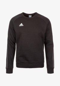 adidas Performance - CORE 18 SWEATSHIRT - Sudadera - black - 0