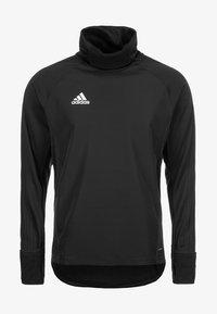 adidas Performance - CONDIVO 18 PLAYER FOCUS WARM TOP - Sweatshirt - black - 2