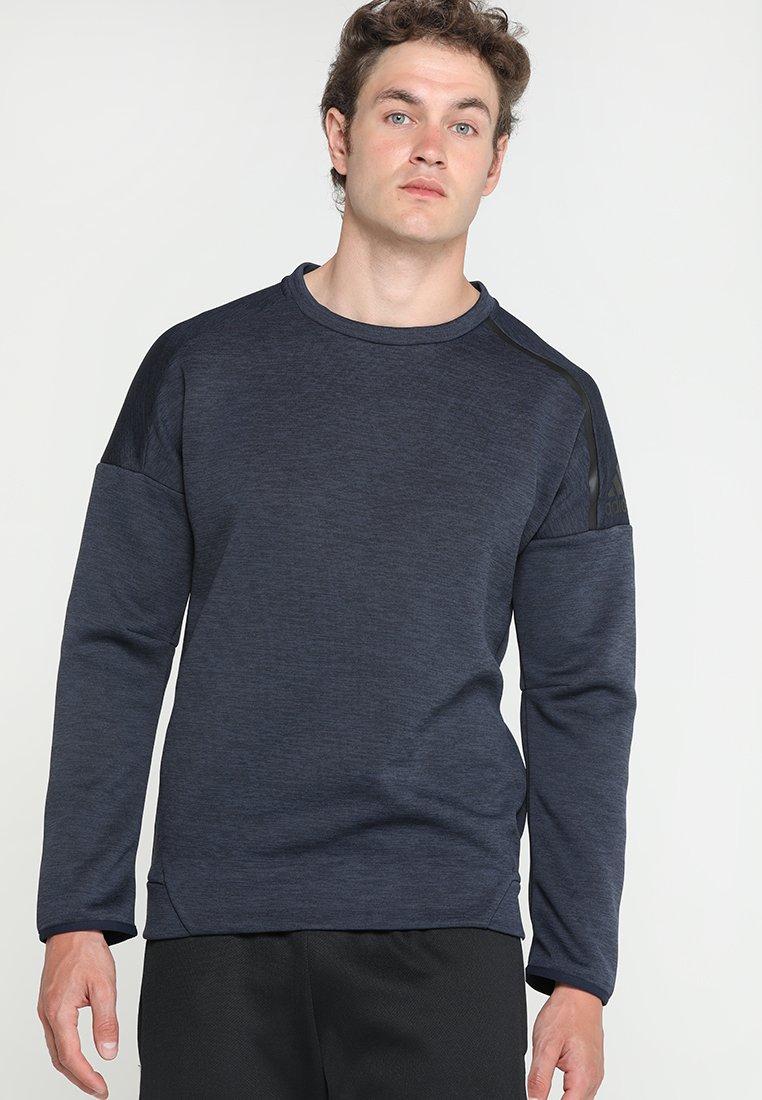 adidas Performance - ZNE CREW - Sweatshirt - dark blue
