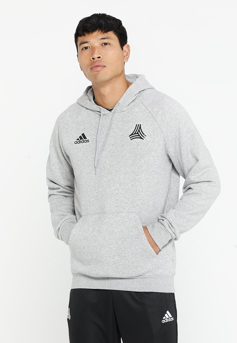 adidas Performance - TAN HOOD - Hoodie - grey
