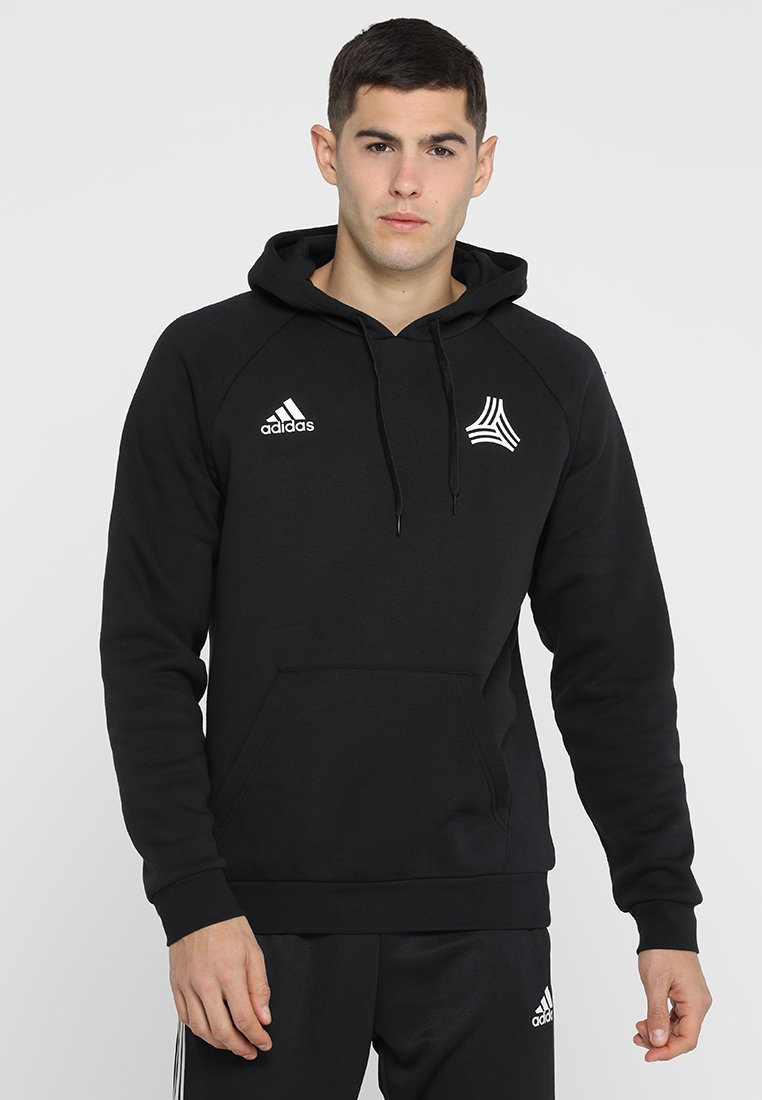 adidas Performance - TAN HOOD - Kapuzenpullover - black