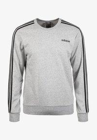 adidas Performance - Essentials 3-Stripes Sweatshirt - Sweater - grey - 0