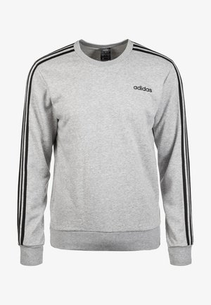 Essentials 3-Stripes Sweatshirt - Sweater - grey
