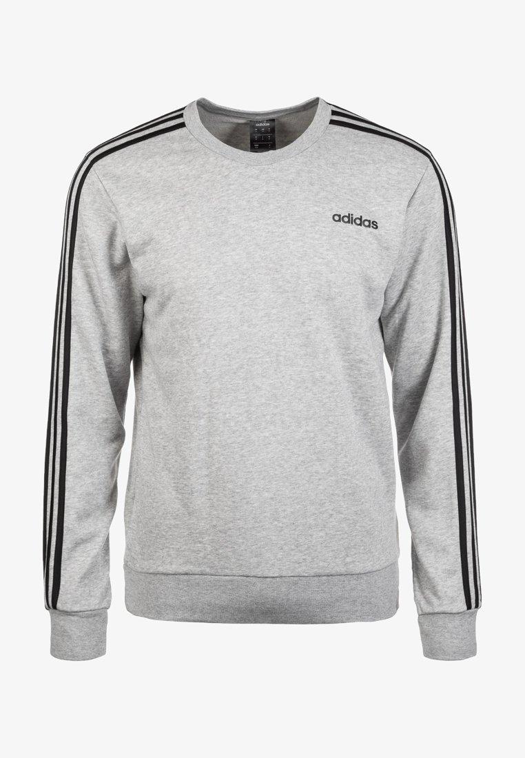 adidas Performance - Essentials 3-Stripes Sweatshirt - Sweater - grey