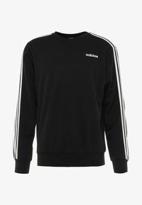 adidas Performance - Essentials 3-Stripes Sweatshirt - Sweatshirt - black/white - 3