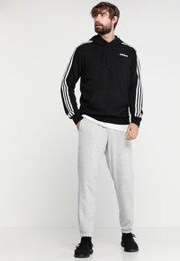 adidas Performance - Hoodie - black/white - 1