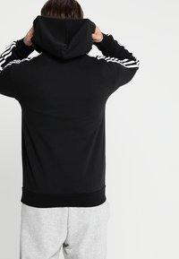 adidas Performance - Hoodie - black/white - 2