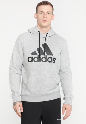 MUST HAVES SPORT REGULAR FIT HOODIE - Luvtröja - medium grey heather/black