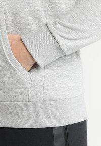 adidas Performance - MUST HAVES SPORT REGULAR FIT HOODIE - Hoodie - medium grey heather/black - 5