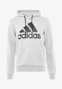 adidas Performance - MUST HAVES SPORT REGULAR FIT HOODIE - Hoodie - medium grey heather/black - 4