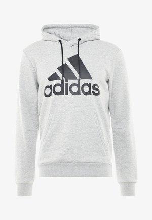MUST HAVES SPORT REGULAR FIT HOODIE - Bluza z kapturem - medium grey heather/black