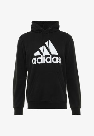 MUST HAVES SPORT REGULAR FIT HOODIE - Hoodie - black/white
