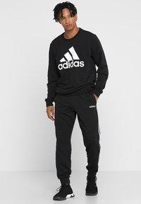 adidas Performance - BOS CREW - Sweatshirt - black/white - 1
