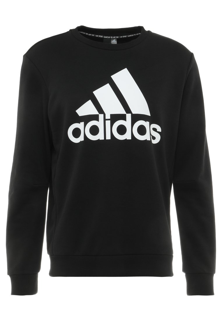 adidas Performance BOS CREW - Sweatshirt - black/white