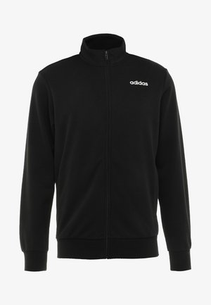Essentials Linear Track Jacket - Felpa aperta - black/white