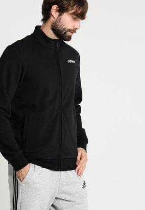 Essentials Linear Track Jacket - Zip-up hoodie - black/white