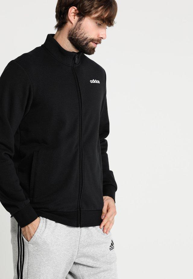 Essentials Linear Track Jacket - Sweatjakke /Træningstrøjer - black/white