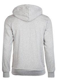 adidas Performance - Zip-up hoodie - grey - 1