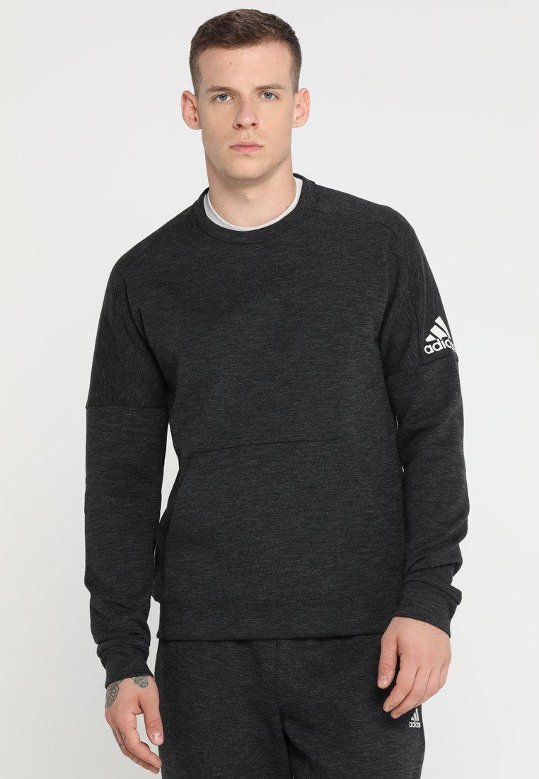 adidas Performance - STADIUM - Sweatshirt - black/grey six