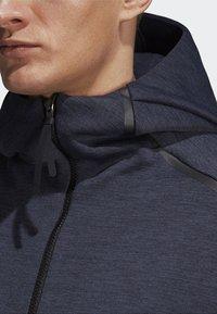 adidas Performance - ADIDAS Z.N.E. FAST RELEASE HOODIE - Zip-up hoodie - grey - 2