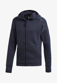adidas Performance - ADIDAS Z.N.E. FAST RELEASE HOODIE - Zip-up hoodie - grey - 5