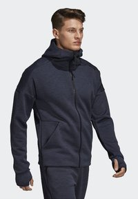 adidas Performance - ADIDAS Z.N.E. FAST RELEASE HOODIE - Zip-up hoodie - grey - 1