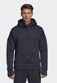 adidas Performance - ADIDAS Z.N.E. FAST RELEASE HOODIE - Zip-up hoodie - grey - 0