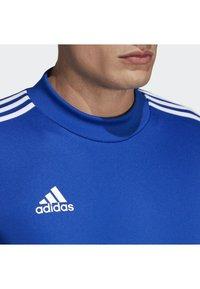 adidas Performance - TIRO 19 TRAINING TOP - Sweatshirt - blue - 3