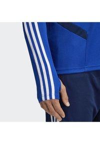adidas Performance - TIRO 19 TRAINING TOP - Sweatshirt - blue - 4