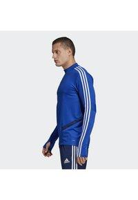 adidas Performance - TIRO 19 TRAINING TOP - Sweatshirt - blue - 2