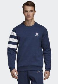 adidas Performance - FRENCH HANDBALL FEDERATION SWEATSHIRT - Sweatshirts - blue/ white - 0