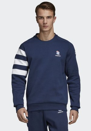 FRENCH HANDBALL FEDERATION SWEATSHIRT - Sweatshirt - blue/ white