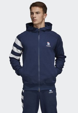 FRENCH HANDBALL FEDERATION HOODIE - Voetbalshirt - Land - blue